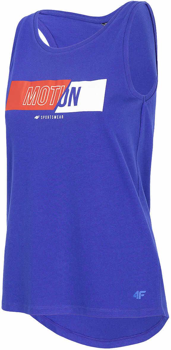 Koszulka damska 4F TSD018 - kobaltowa (H4L20 TSD018 36S)