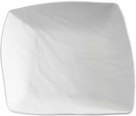 Półmisek prostokątny z melaminy 230x235mm różne kolory