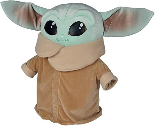 Simba 6315875795 Disney Mandalorian/The Child Jumbo / 66 cm / Baby Yoda/XXL pluszowa figurka