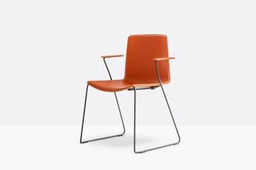 Pedrali Krzesło Tweet 898 Pomarańczowy