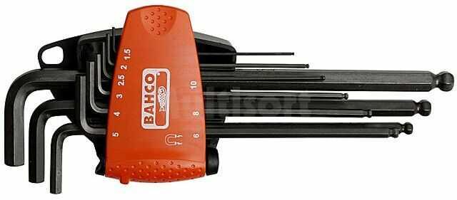 Zestaw kluczy imbusowych BAHCO BE-9688 9szt.
