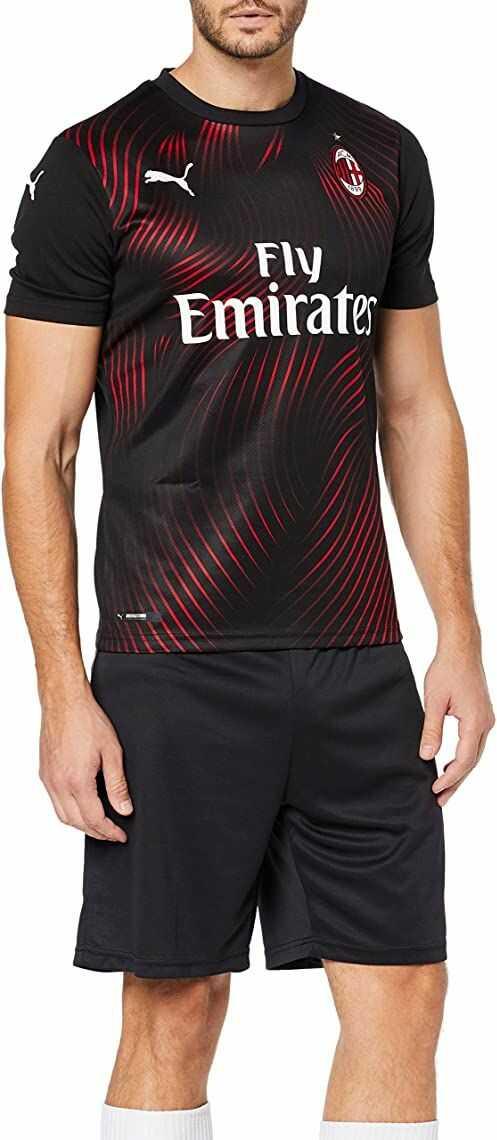 PUMA męska koszulka Ac Milan 1899 Third Shirt Repl. Top1 Player czarny Puma Black/Tango Red XX-L