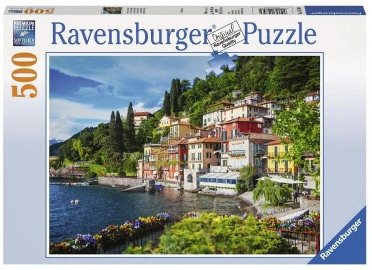 Puzzle 500 Jezioro Como, Włochy - Ravensburger