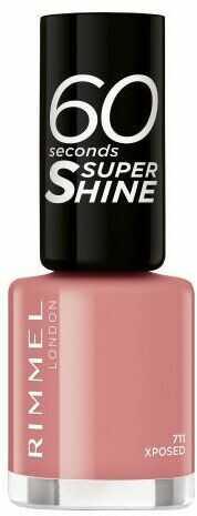 Rimmel London 60 Seconds Super Shine lakier do paznokci 8 ml dla kobiet 711 Xposed
