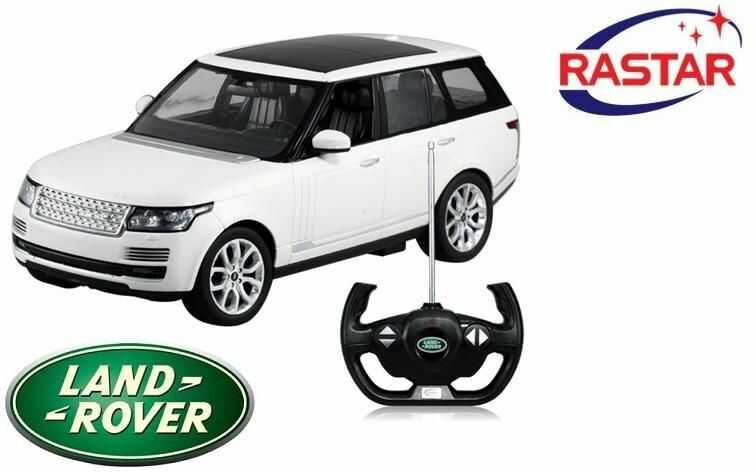Duży Licencjonowany Zdalnie Sterowany SUV Range Rover Sport (1:14) + Bezprzewodowy Pilot Sterujący.