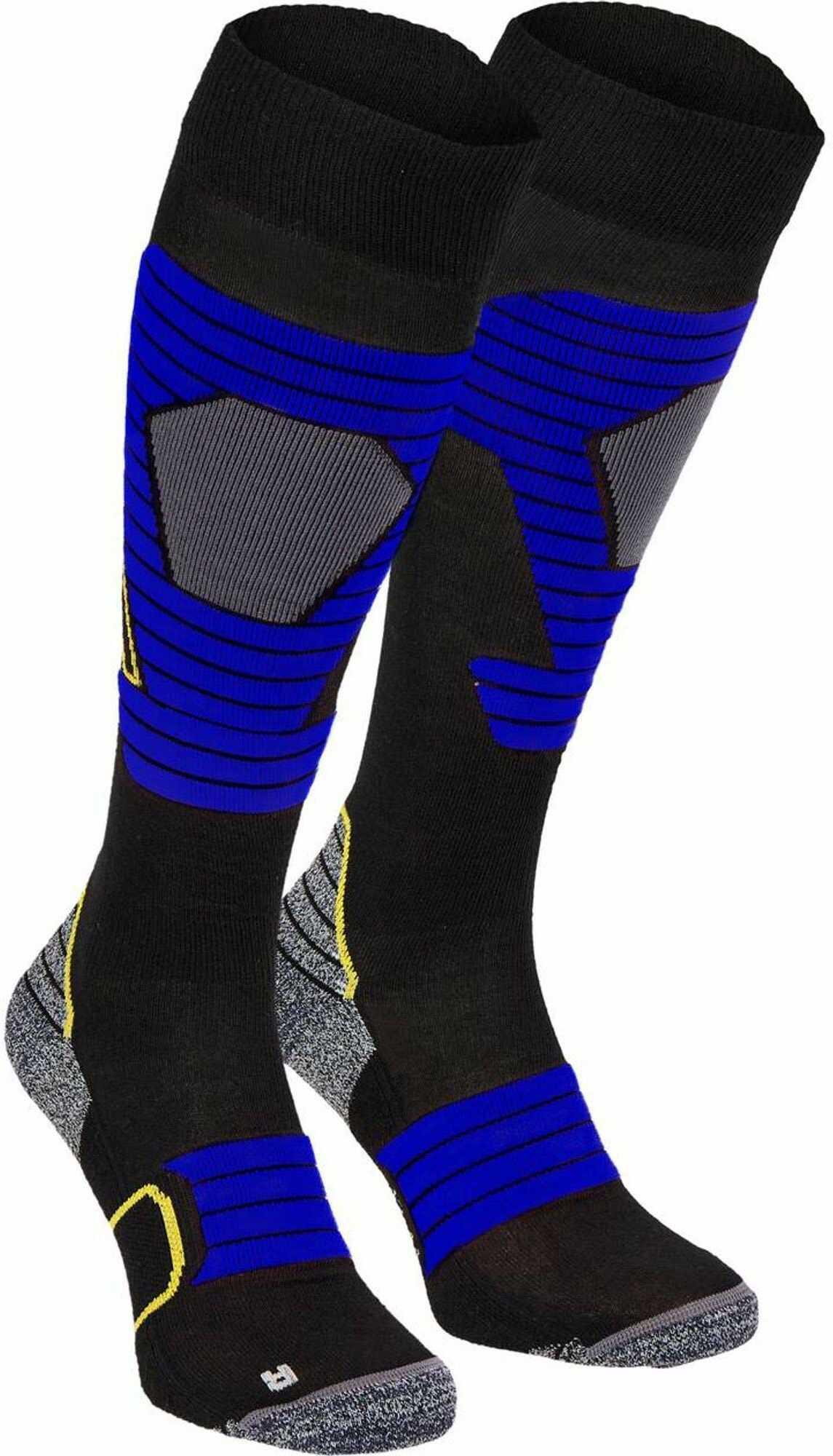 McKINLEY Brima rajstopy męskie czarny czarny/niebieski 39-41