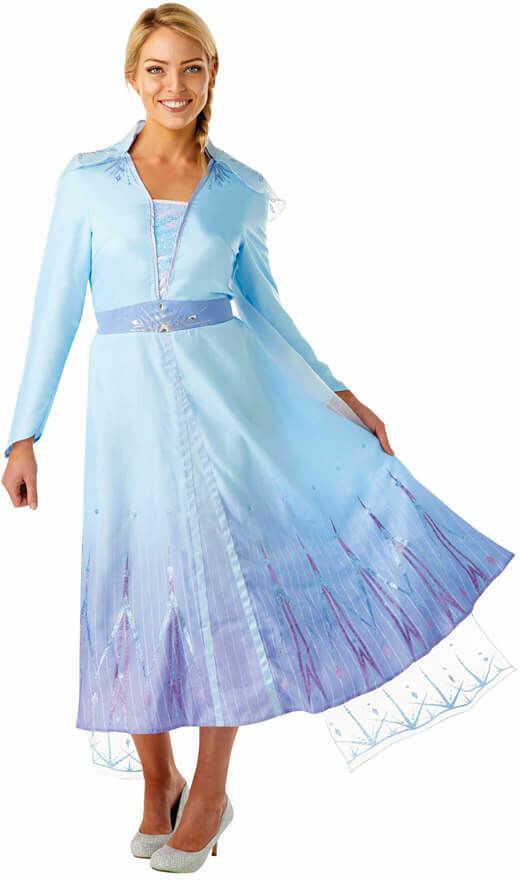 Kostium Frozen 2 Elsa dla kobiety - Roz. XS