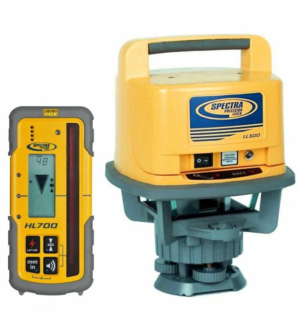 Niwelator laserowy Spectra Precision LL500 z odbiornikiem HL700