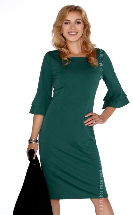 Keretemin Dark Green FZ1738 sukienka