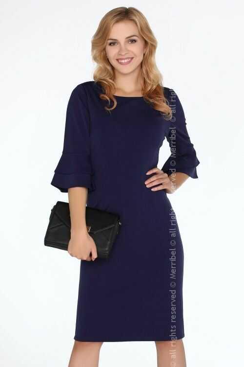 Keretemin Navy Blue FZ1738 sukienka