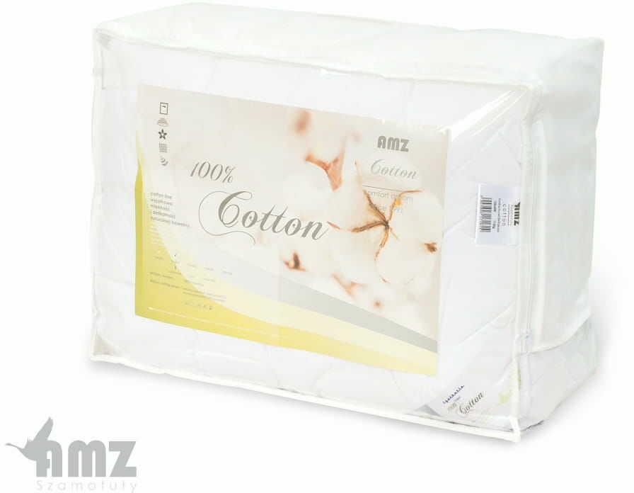 Kołdra Antyalergiczna 180x200 AMZ Cotton 4 Pory Roku