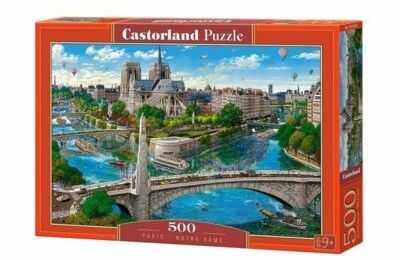 Puzzle Castor 500 - Katedra Notre Dame, Paryż, Paris - Notre Dame