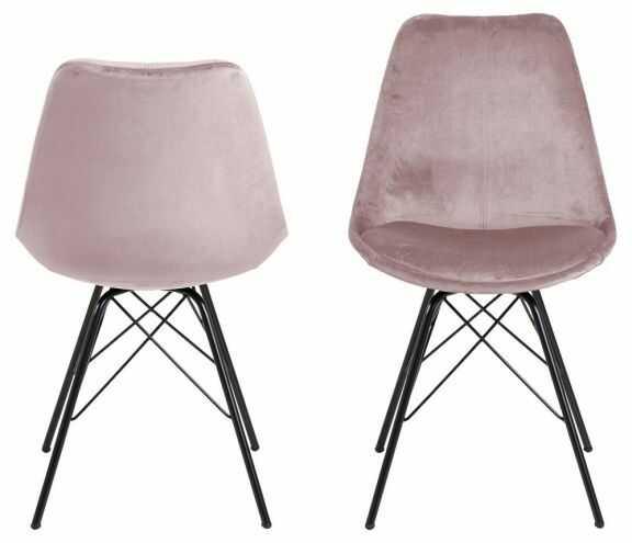 Krzesło Eris - brudny róż