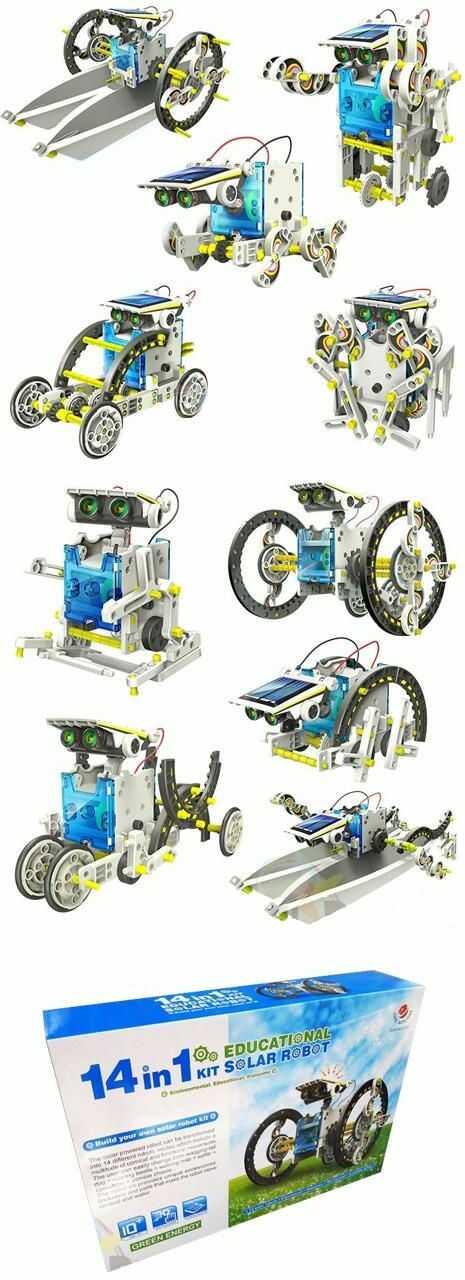 Edukacyjny Robot/Zestaw Solarny 14w1!!