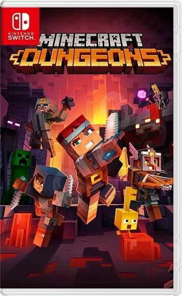 Gra Minecraft Dungeons (Nintendo Switch)