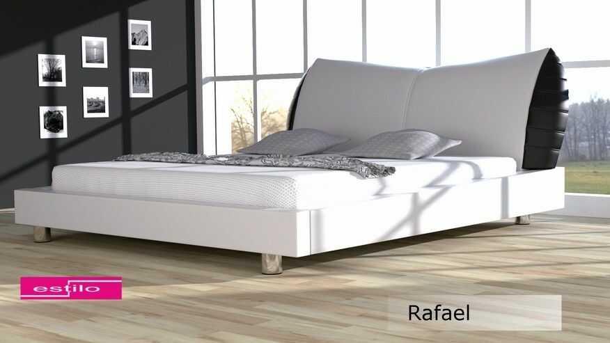 Łóżko sypialniane Rafael meble do sypialni velur