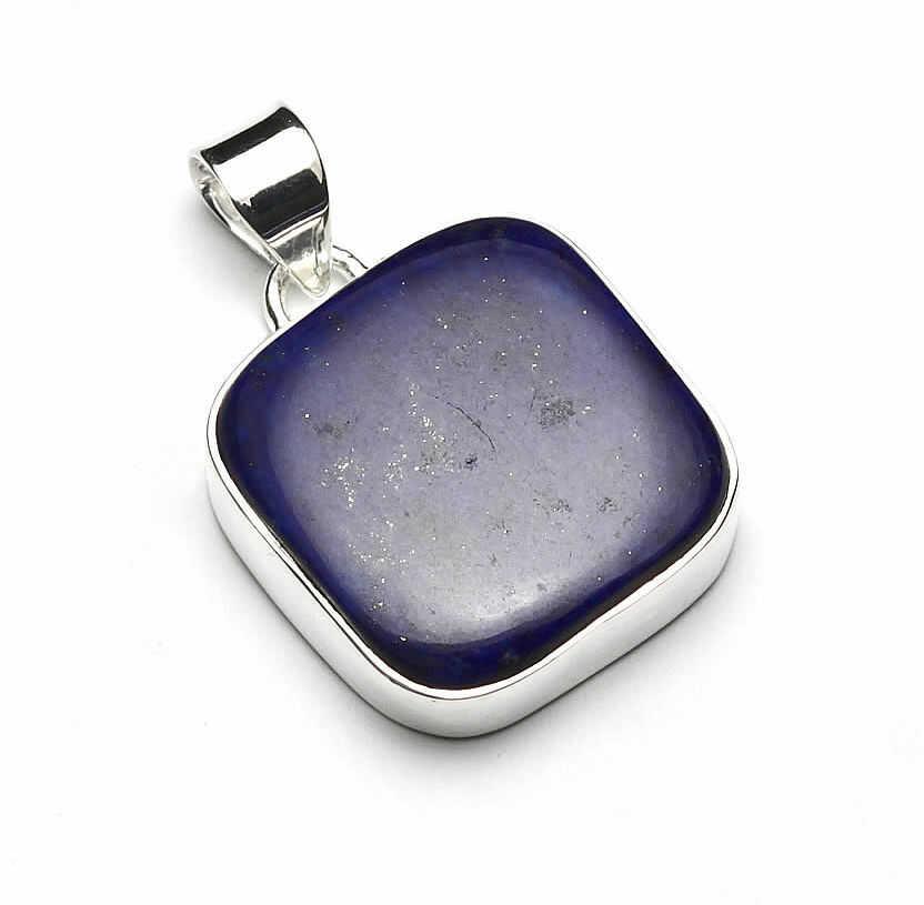 Kuźnia Srebra - Zawieszka srebrna, 33mm, Lapis Lazuli, 11g, model