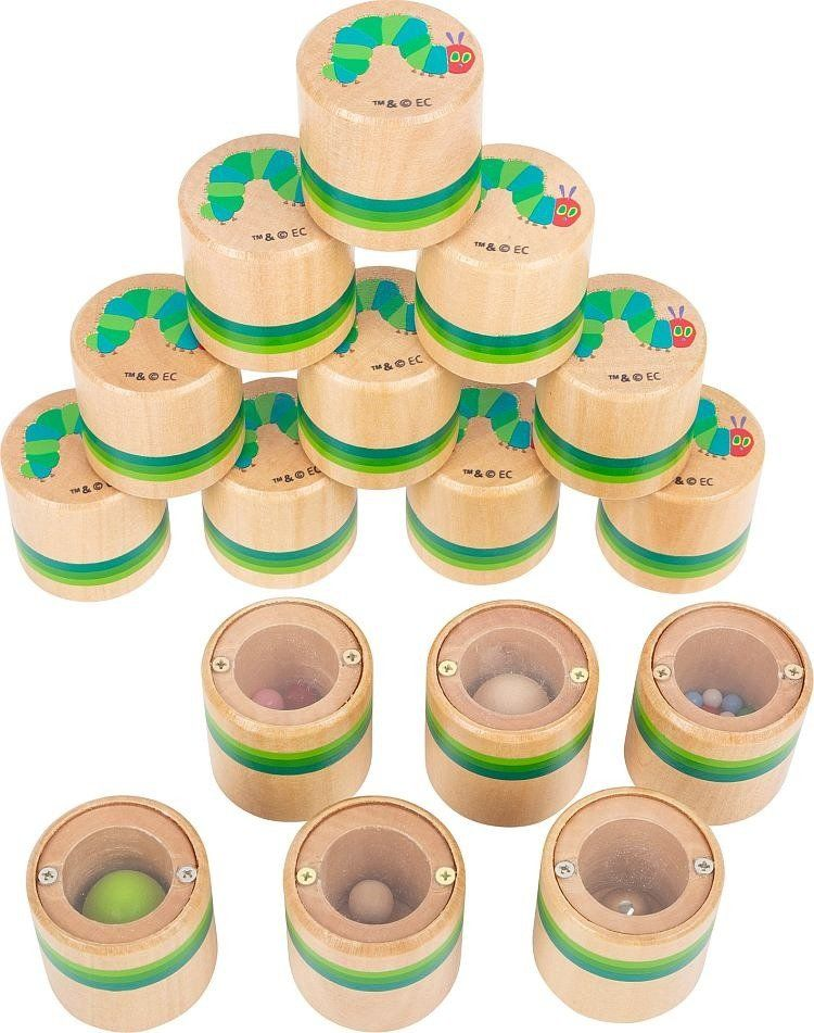 Dźwiękowe memory 16 elementów Bardzo głodna gąsienica, 11433-Small Foot, gry drewniane