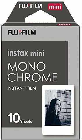 Wkłady Fujifilm Instax Mini Monochrome (10 sztuk)