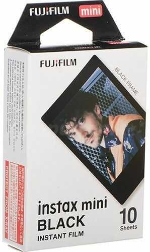 Wkłady Fujifilm Instax Mini Black Frame (10 sztuk)