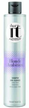 ALFAPARF That''s It, szampon do zimnych blondów i siwych włosów, 250ml