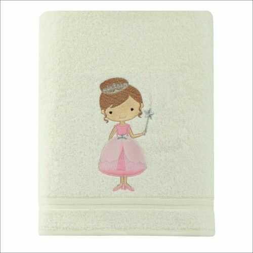 Ręcznik kąpielowy dziecięcy gruby 70x140 Księżniczka Spod Igły i Nitki