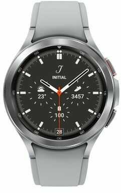 Smartwatch SAMSUNG Galaxy Watch 4 Classic 46mm Srebrny SM-R890NZSAEUE. >> ZYSKAJ 50 zł za KAŻDE wydane 500 zł! ODBIÓR W 29MIN DARMOWA DOSTAWA DOGODNE RATY