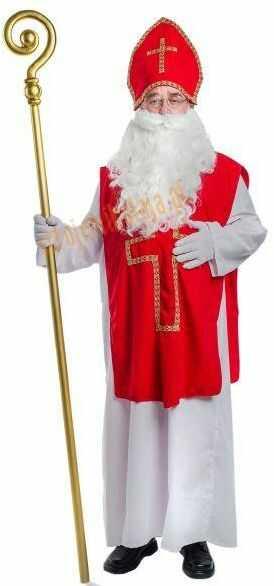 Strój świętego Mikołaja biskupa (strój prawdziwego Mikołaja) - model 5