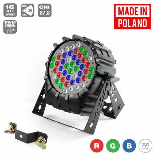 Flash Pro LED PAR 64 48x3W RGBW SHORT Mk2 reflektor LED