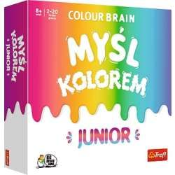 PROMO Myśl Kolorem! Colour Brain Junior 01763 Trefl (01763 TREFL)