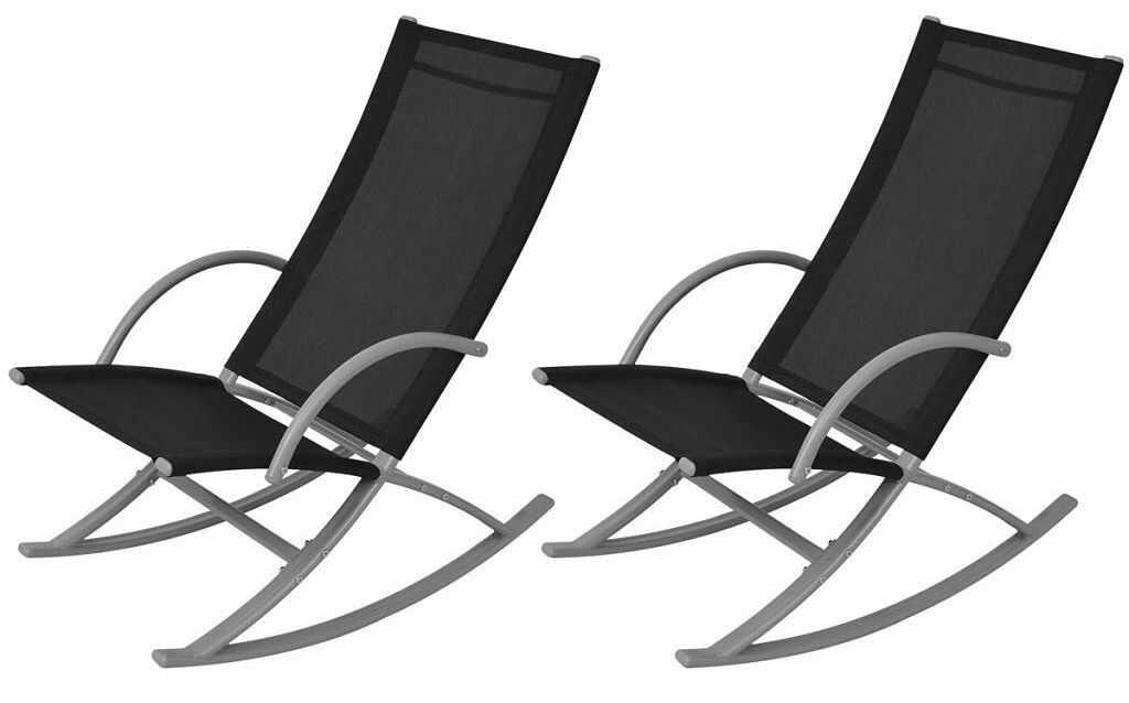Zestaw bujanych krzeseł ogrodowych - Laoma