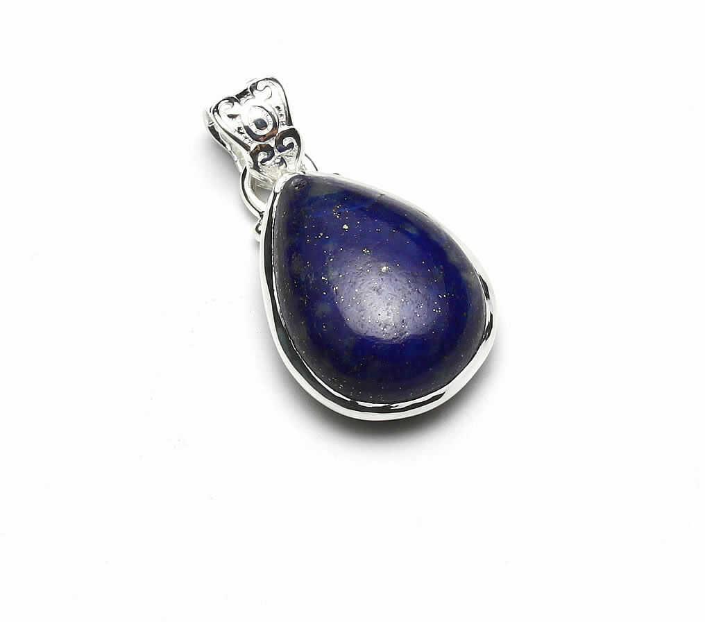 Kuźnia Srebra - Zawieszka srebrna, 28mm, Lapis Lazuli, 5g, model