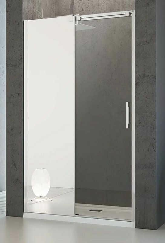 Drzwi prysznicowe 140 Espera DWJ Radaway (380695-01L + 380214-71L)