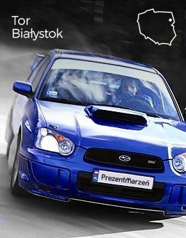 Jazda Subaru Impreza STI  Tor Białystok