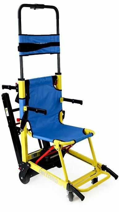Transporter schodowy - schodołaz krzesełkowy gąsienicowy (LG EVACU 130kg udźwigu)