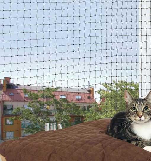 Trixie Siatka ochronna na balkon, czarna