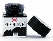 Talens Ecoline Farba Akwarel Płynna 700 Black