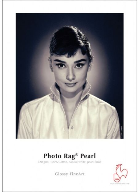 Papier HAHNEMUHLE PHOTO RAG Pearl 320gsm A4 (25 arkuszy) (10641667)