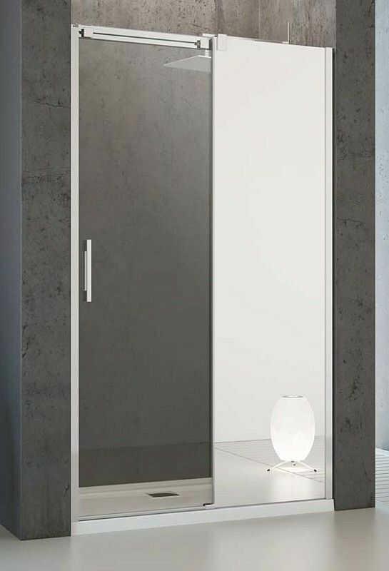 Drzwi prysznicowe 100 Espera DWJ Radaway (380495-01R + 380210-71R)