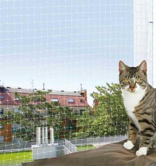 Trixie Siatka ochronna na balkon, przezroczysta