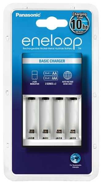 Panasonic Eneloop BQ-CC51 - ładowarka do akumulatorów R6/AA i R03/AAA