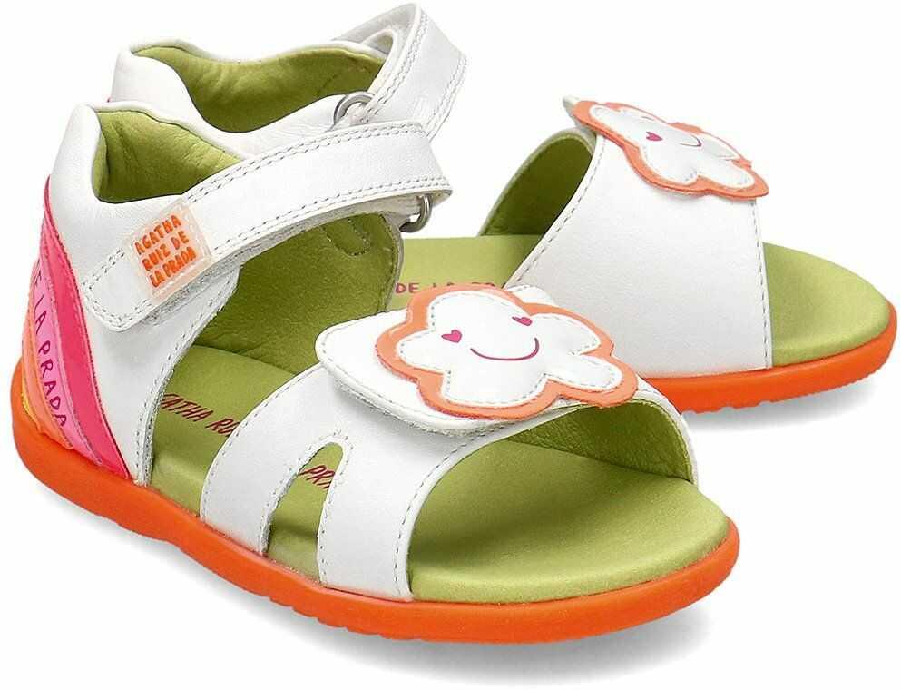 Agatha - Sandały Dziecięce - 202909 B-BLANCO - Biały