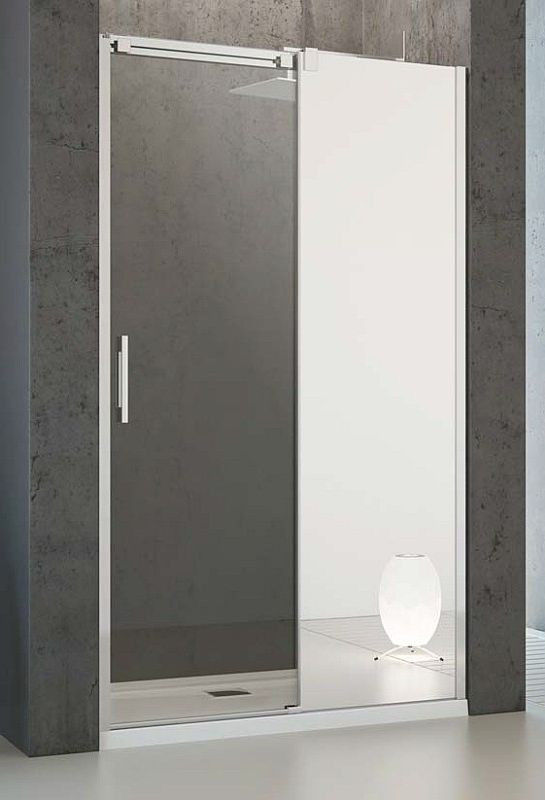 Drzwi prysznicowe 120 Espera DWJ Radaway (380595-01R + 380212-71R)