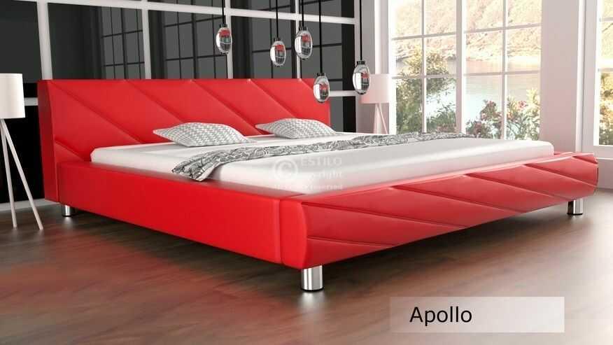 Łóżko do sypialni Apollo meble do sypialni velur