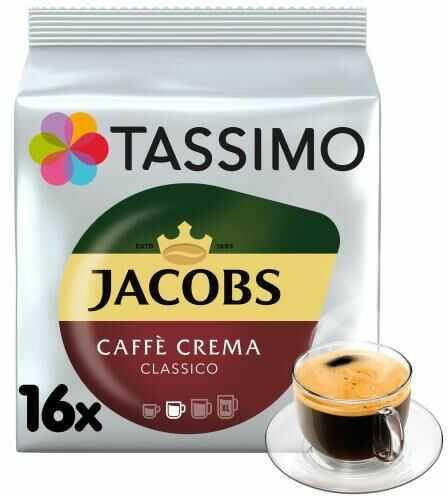 Tassimo Jacobs Caffe Crema Classico 112g