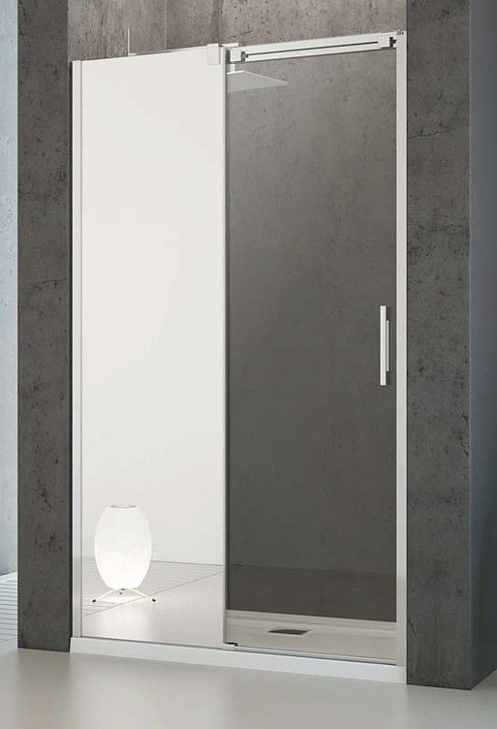 Drzwi prysznicowe 100 Espera DWJ Radaway (380495-01L + 380210-71L)
