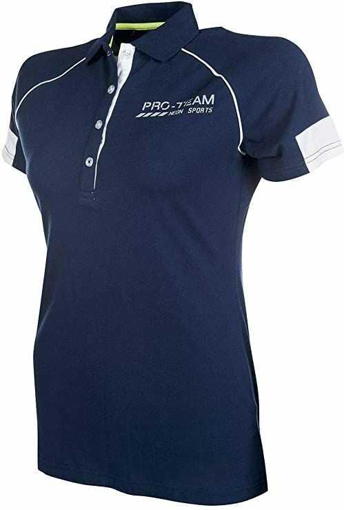 HKM koszulka polo dla dorosłych -Neon Sports-6900 ciemnoniebieska 128 spodnie, 6900 ciemnoniebieska, 128