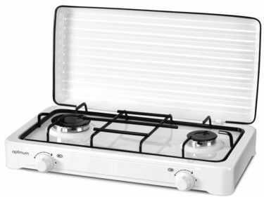 Kuchenka gazowa Optimum KG-1012 biała