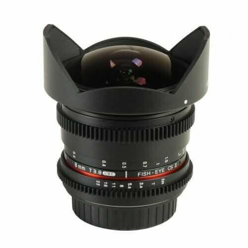 Samyang 8mm T3.8 Sony E VDSLR Fish-eye CSII