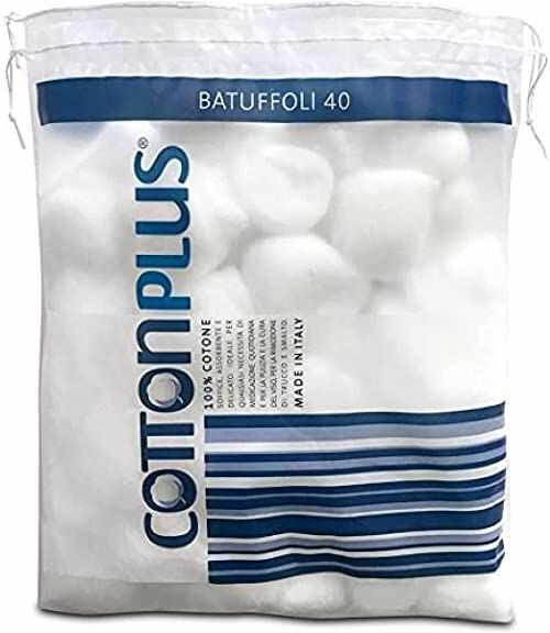 Cotton Plus Waciki białe 40-29 g